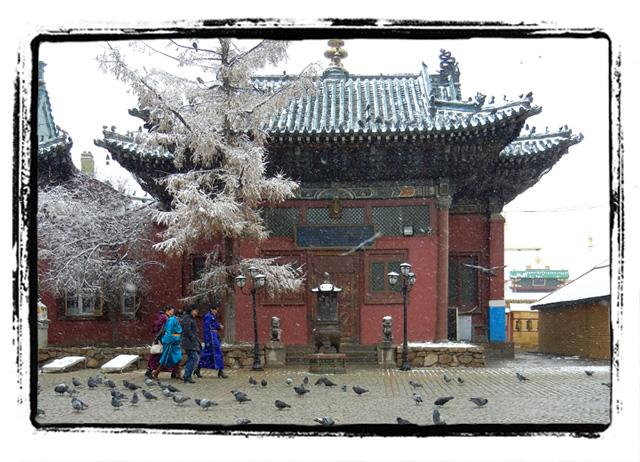 Mongolia Snow