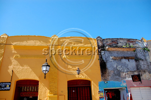 Chiapas buildings Sarah Peck