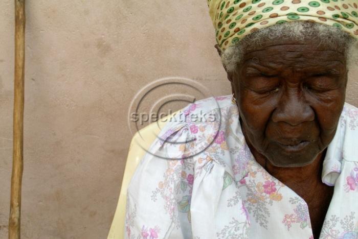 Elderly Ghana Sarah Peck