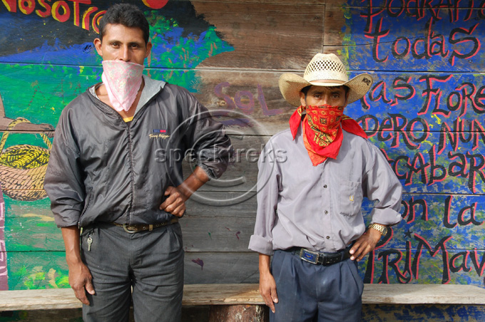 Zapatista Men Sarah Peck
