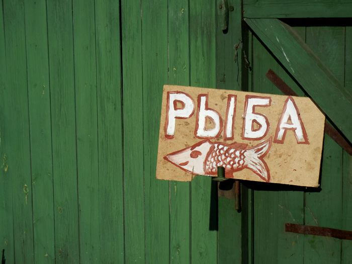 Selling Fish, Baikal