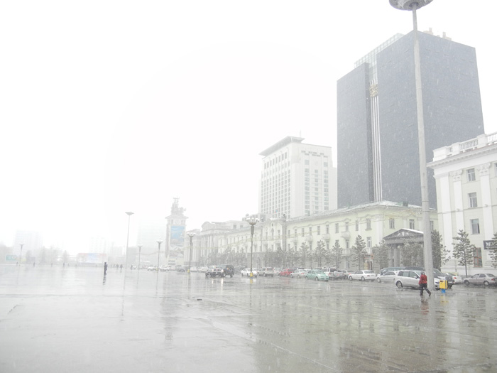 Ulaanbaator downtown