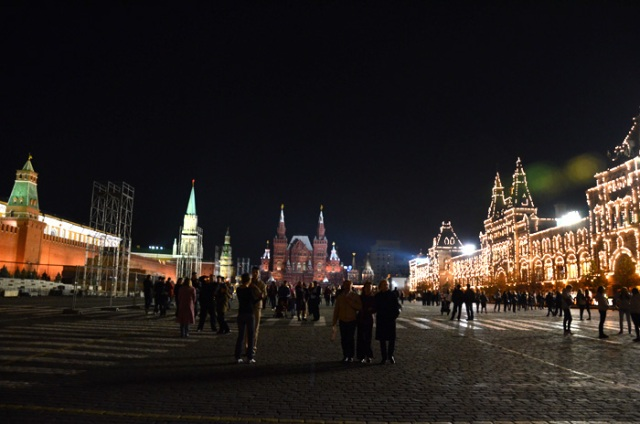 Red Square at Night Sarah Peck