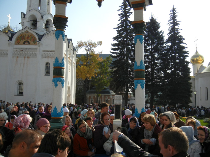 Holy Water Sergiev Posad