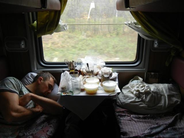 Trans Siberian Part 1 Sarah Peck